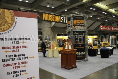 American Numismatic Association Convention Exhibits